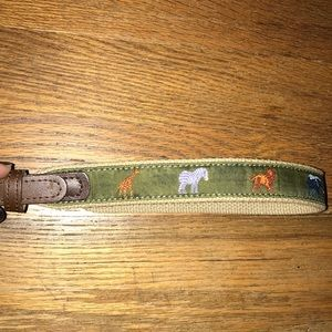Toddler safari belt